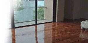 lantai kayu solid lampung