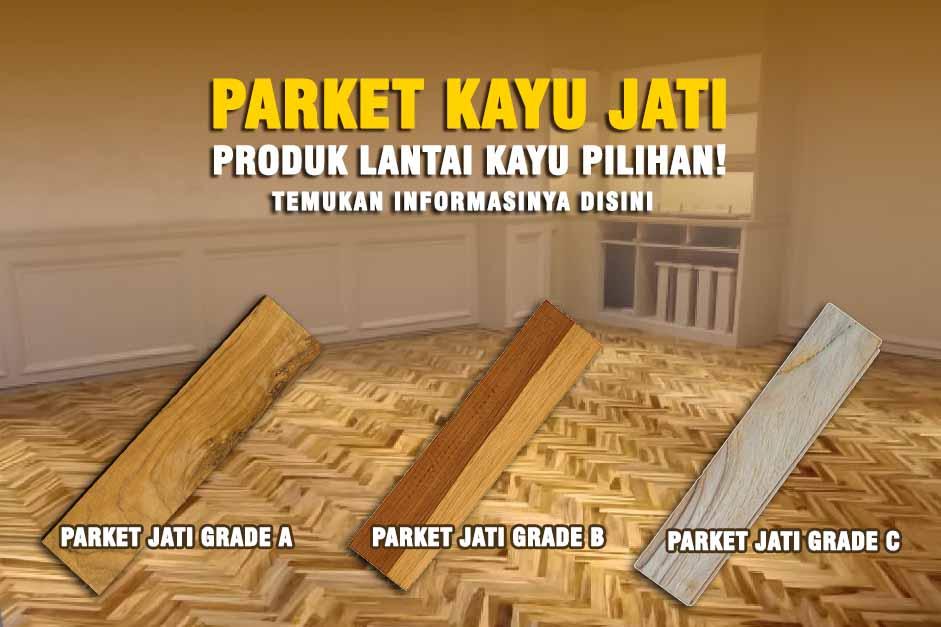 PARKET KAYU JATI