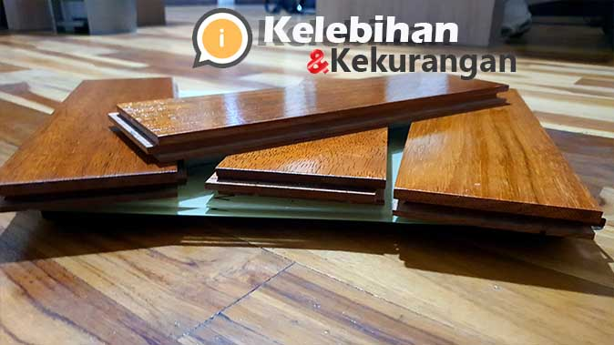 kelebihan lantai kayu