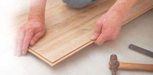 lantai laminated kayu