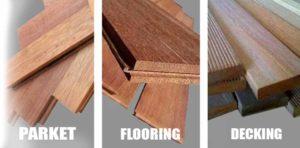 tipe lantai kayu solid