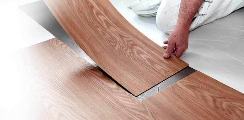 pemasangan lantai vinyl