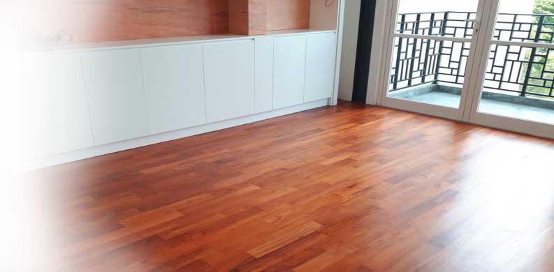 lantai kayu solid fungsi dan manfaat