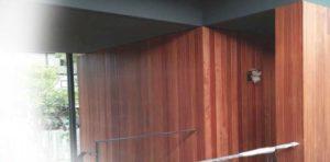 plafon kayu dinding