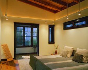 Proyek pemasangan lantai kayu