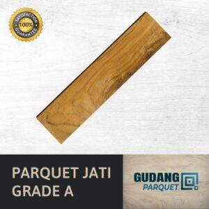 parquet kayu jati grade A