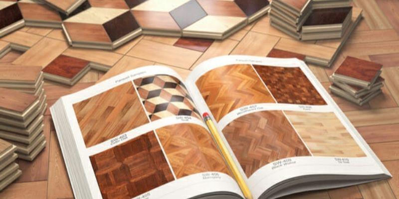 pola pasang lantai kayu parket